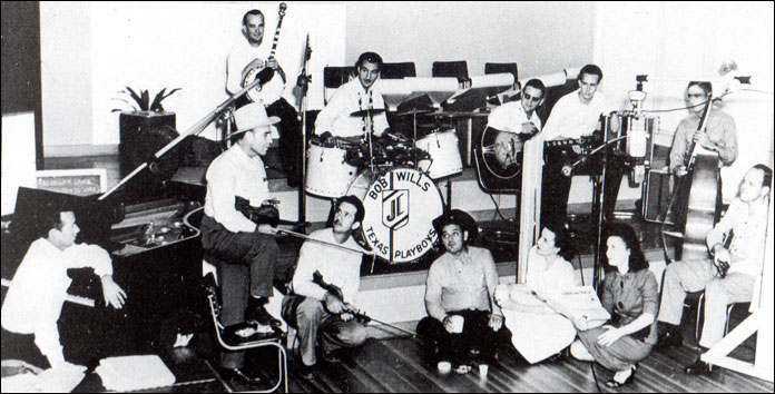 Photo of the actual recording session on September 6, 1947