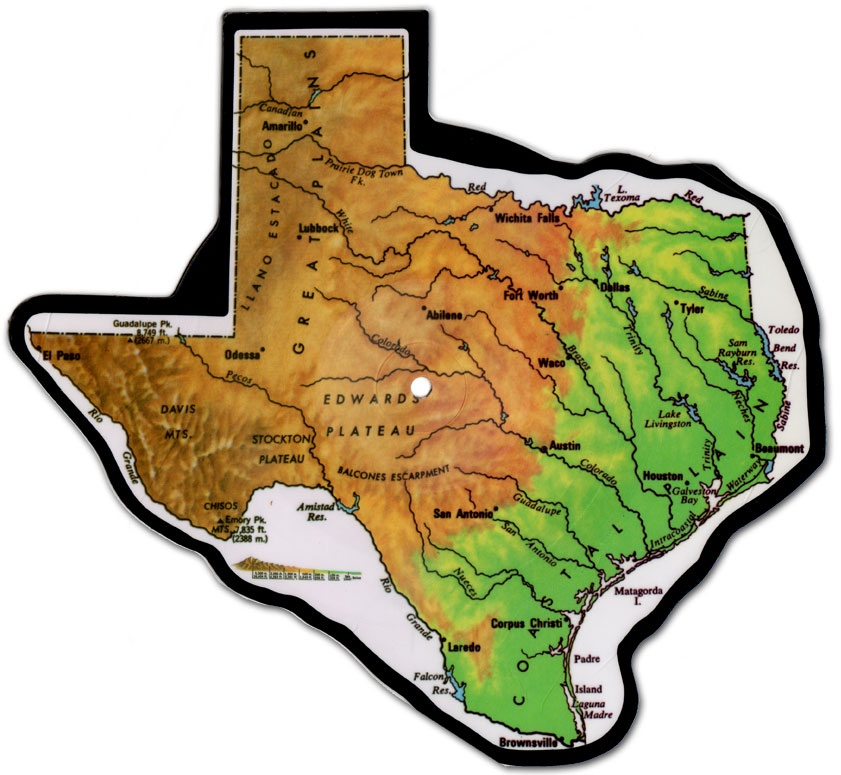 texas-shaped